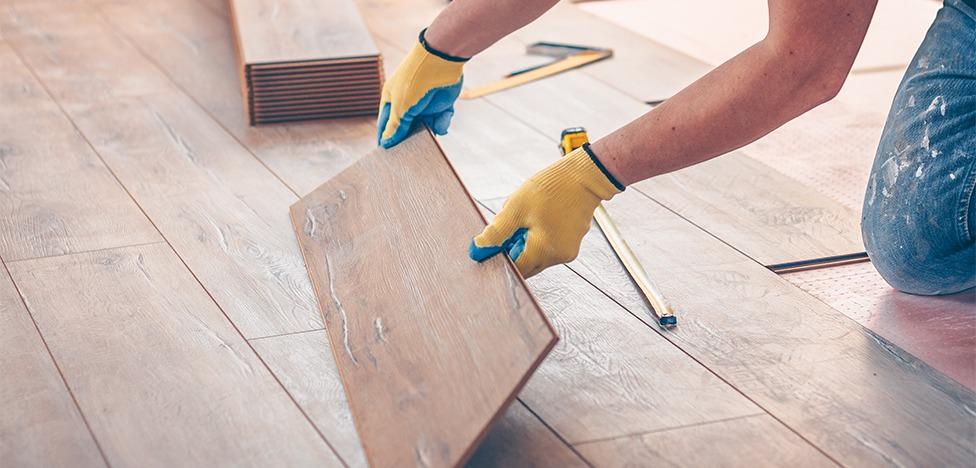 como é feita a instalação do piso vinilico